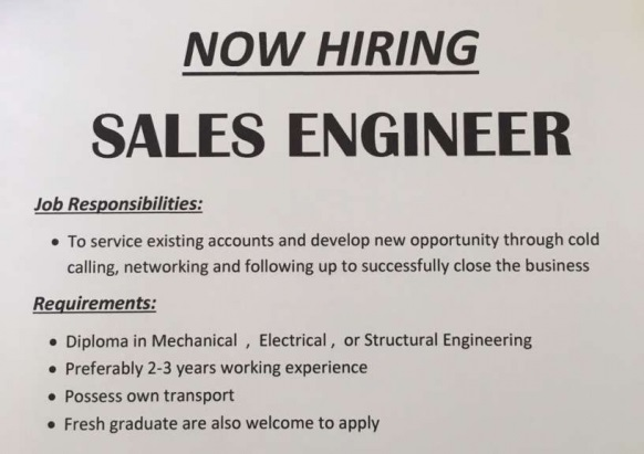 Are You A Sales Engineer?