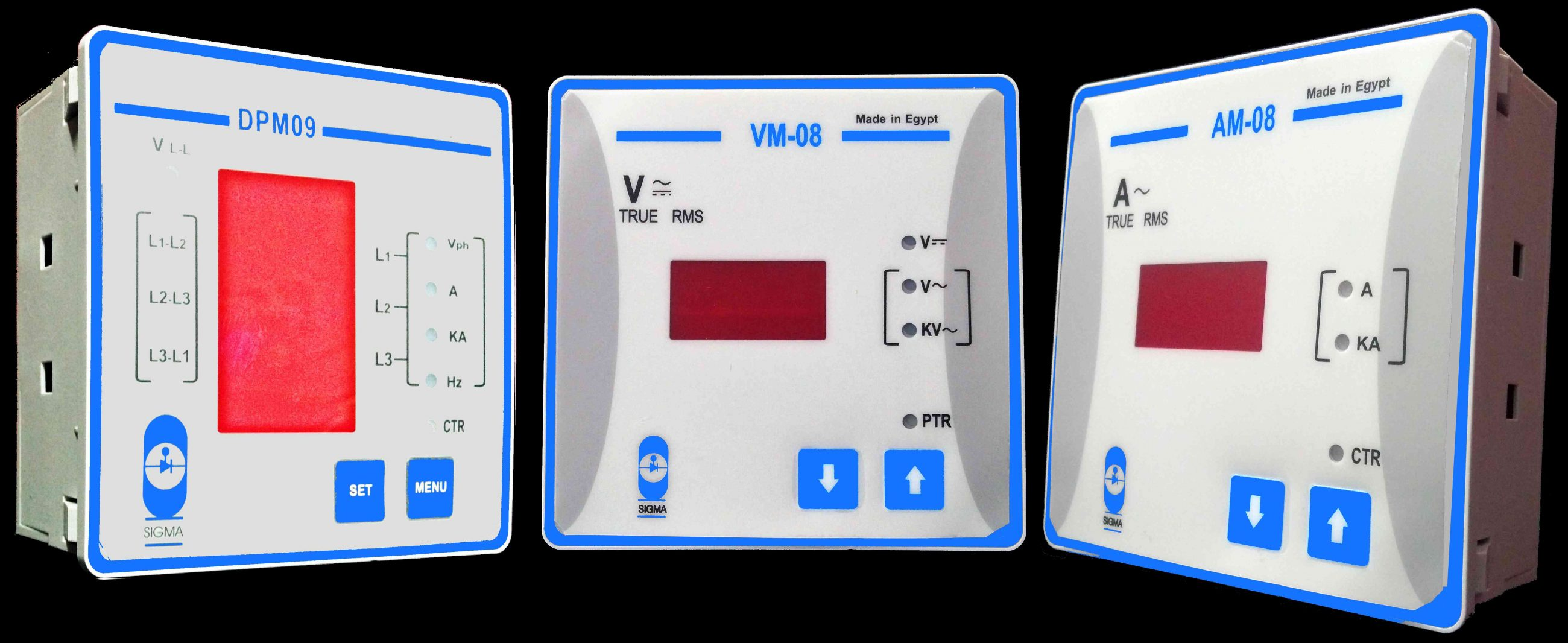 Multi-Function Digital Panel Meters