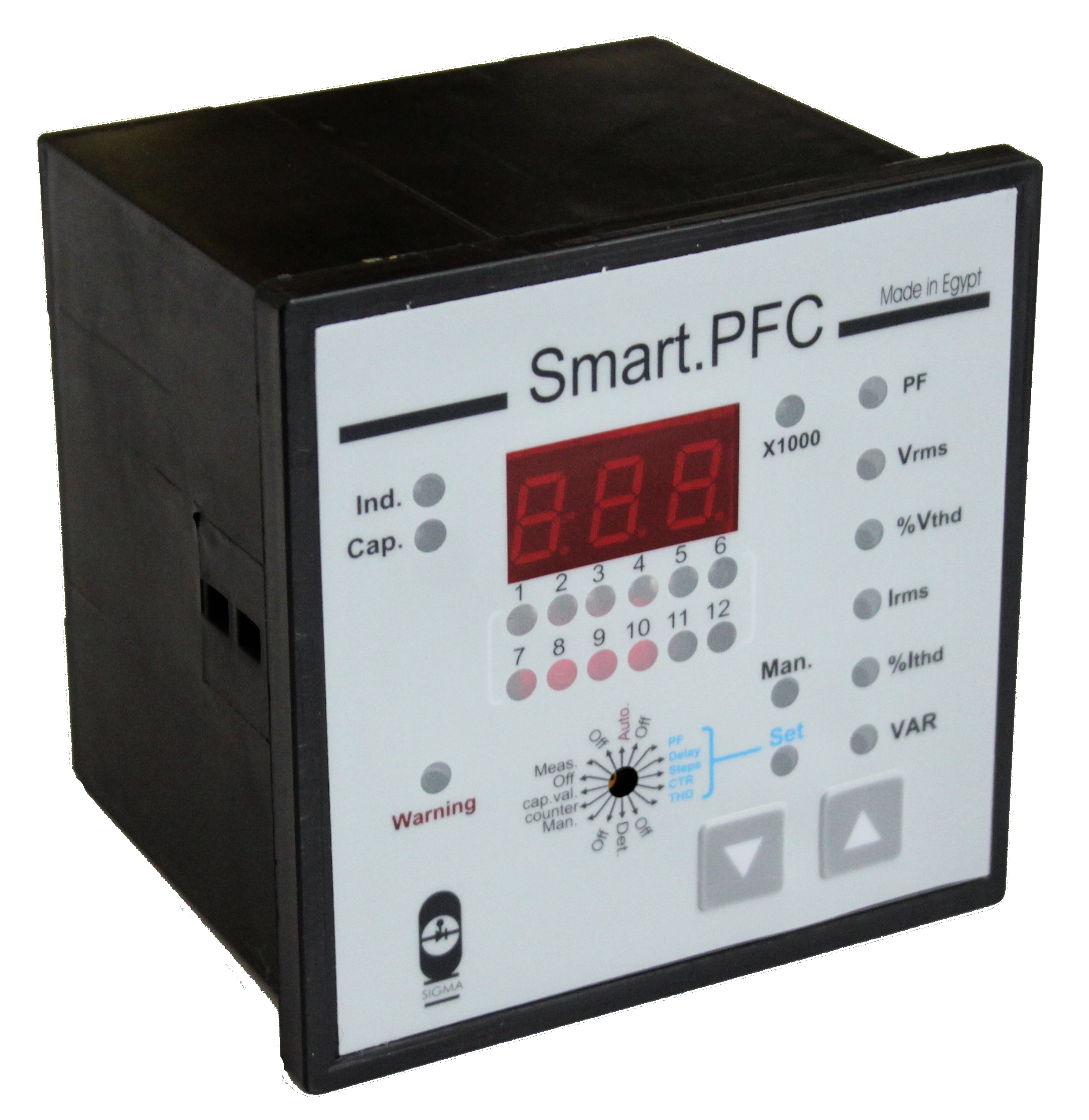 Power Factor Controller – Sigma Electronics